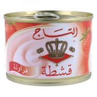 قشطة التاج  فراولة 155 جرام