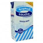 حليب السعودية كامل الدسم 1لتر