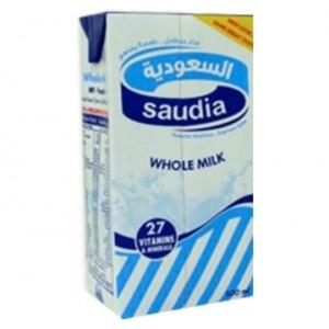 حليب السعودية كامل الدسم