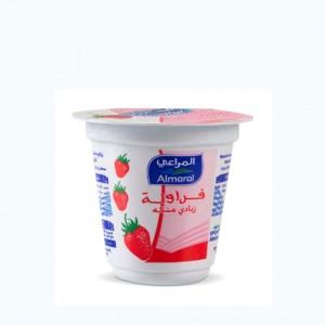 زبادي المراعي بالفراولة 100 جرام