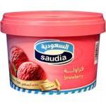 ايسكريم السعودية فراولة 500مل