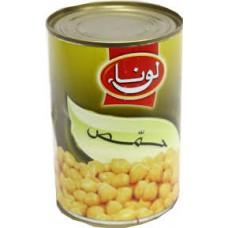 حمص لونا حب علب 400 جرام